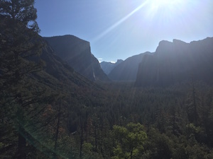 Yosemite vista-point